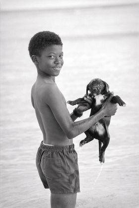 Il Bagno, Bridgetown, Barbados, 1988, ph Alessia Bulgari, courtesy Fondazione Pianoterra
