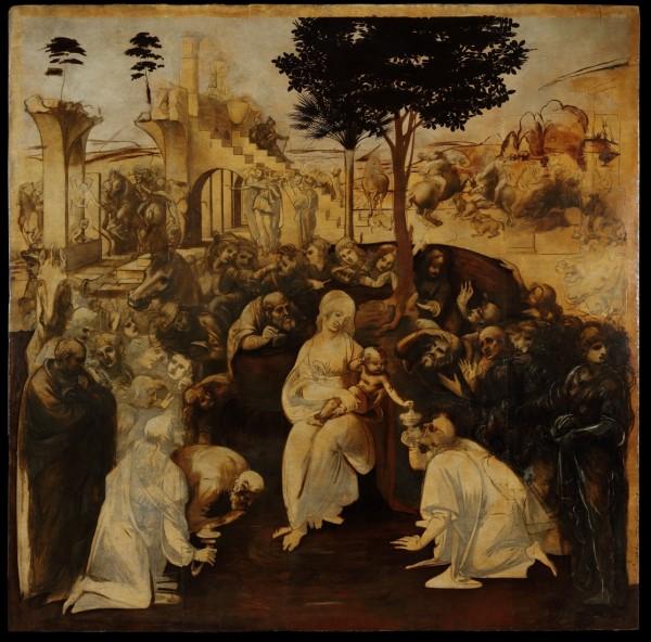 il dipinto intero dopo il restauro