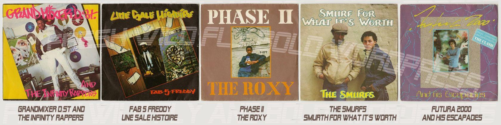 Un vecchio vinile di Phase II, The Roxy