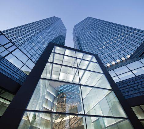 Il quartier generale della Deutsche Bank a Francoforte