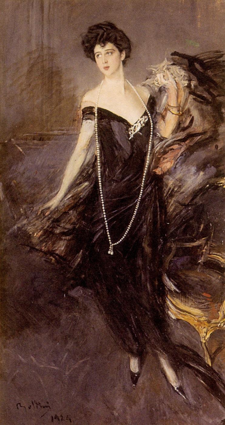 Il ritratto di Franca Florio eseguito da Boldini