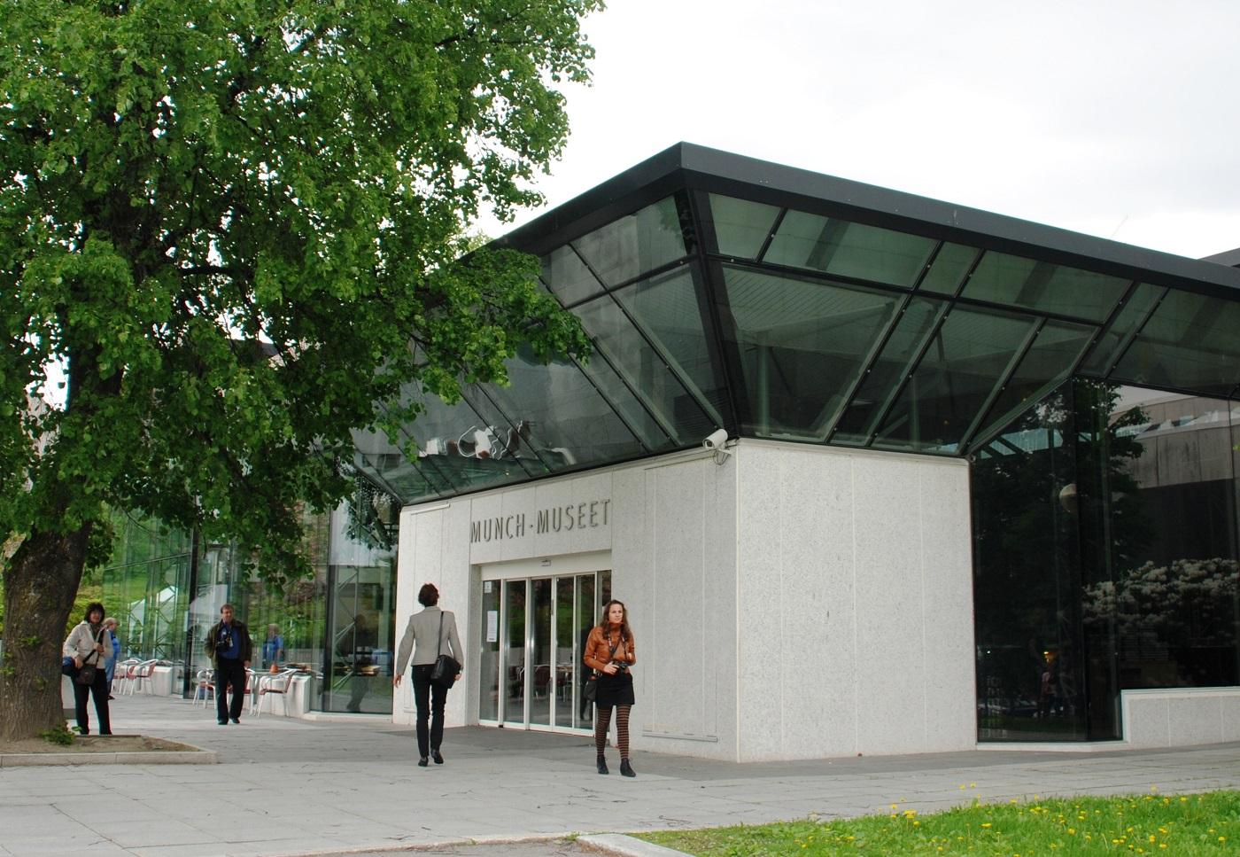 Il vecchio Munch Museum di Oslo