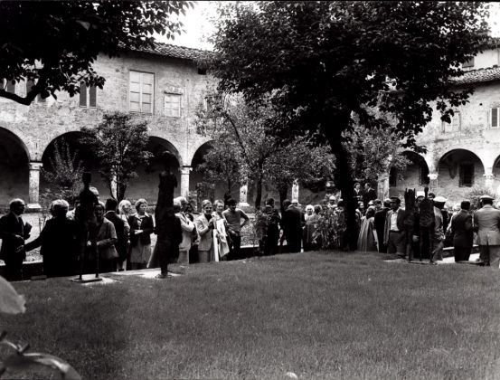 Inaugurazione del Centro Studi della Fondazione Ragghianti, Lucca 1981