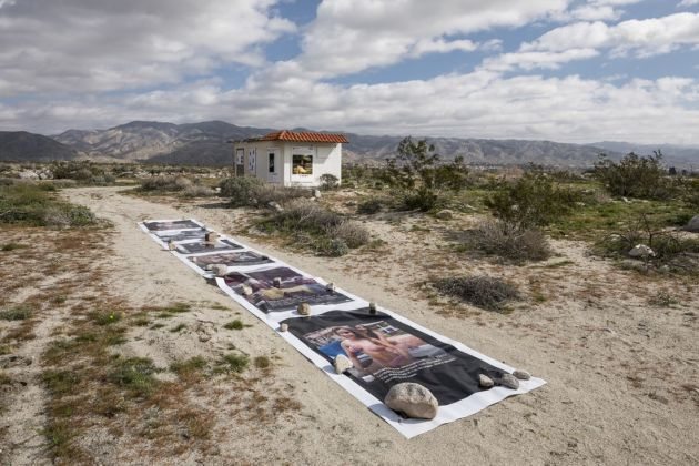 Installation view of Richard Prince, Third Place, at Desert X, 2017. Photo by Lance Gerber, courtesy of the artist and Desert X
