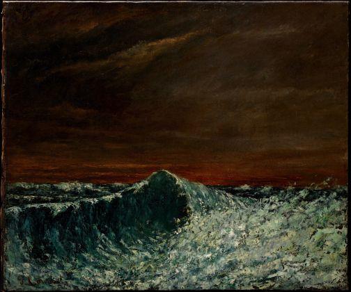 Intuition, Palazzo Fortuny, Venezia, 2017. Gustave Courbet (France, 1819-1877) « La Vague » 1872-1873. Oil on canvas. Collection de Bueil & Ract-Madoux