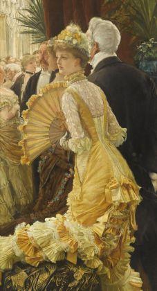 James Tissot, Il ballo, 1878 circa, olio su tela, 90 x 50 cm, Parigi, Musée d'Orsay © René-Gabriel Ojéda – RMN-Réunion des Musées Nationaux – distr. Alinari