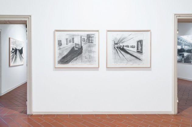 José Yaque. Alluvione d'Arno. Exhibition view at Villa Pacchiani, Santa Croce sull'Arno 2017. Photo Ela Bialkowska, OKNOstudio