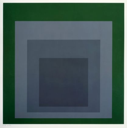Josef Albers, SP (Homage to the square), 1967 © The Josef and Anni Albers Foundation - VG Bild-Kunst, Bonn 2016