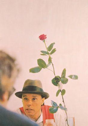 Joseph Beuys, Manifesto-Rose for direct democracy, 1972, stampa su carta, 78x56 cm, Collezione Palli
