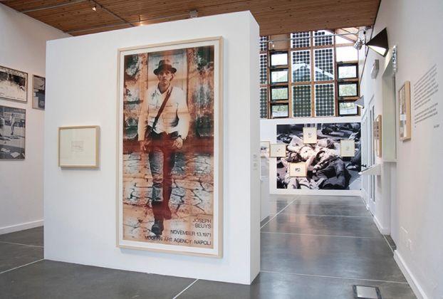 Joseph Beuys. La Tenda Verde. Exhibition view at PAV, Torino 2017