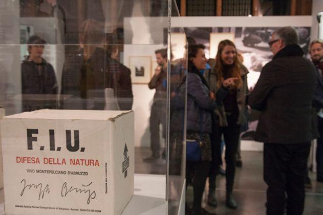 Joseph Beuys. La Tenda Verde. Opening at PAV, Torino 2016