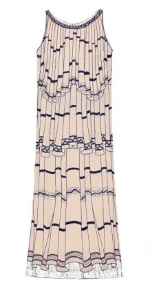 Karl Lagerfeld for Chloé, Casanova Dress, Spring/Summer 1984. Courtesy Chloé Archive Paris