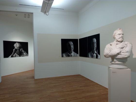 Katja Snozzi, Ritratti fotografici. Exhibition view at Museo Vincenzo Vela, Ligornetto 2017