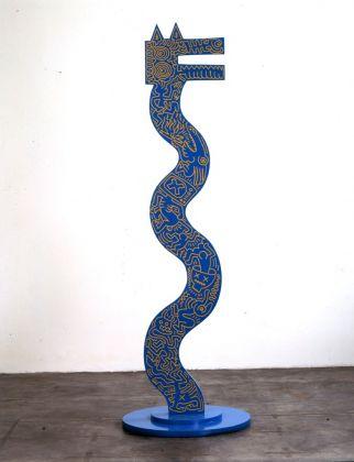 Keith Haring, Untitled, 5 giugno 1984. Milano, collezione Salvatore Ala © Keith Haring Foundation