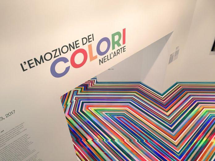 L'emozione dei COLORI, nell'arte, 2017. GAM, Torino