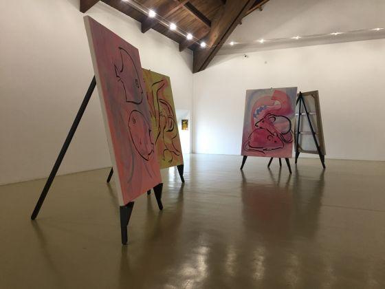 L'emozione dei COLORI, nell'arte, 2017. Rivoli - Terzo piano del museo