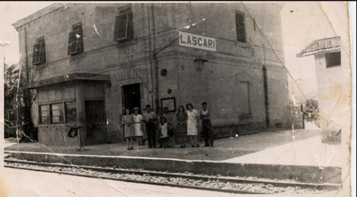 La Stazione di Lascari negli anni '40