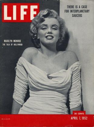La copertina di Life del 7 aprile 1952