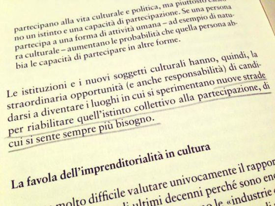 La cultura in trasformazione. Alessandro Bollo, La cultura in trasformazione