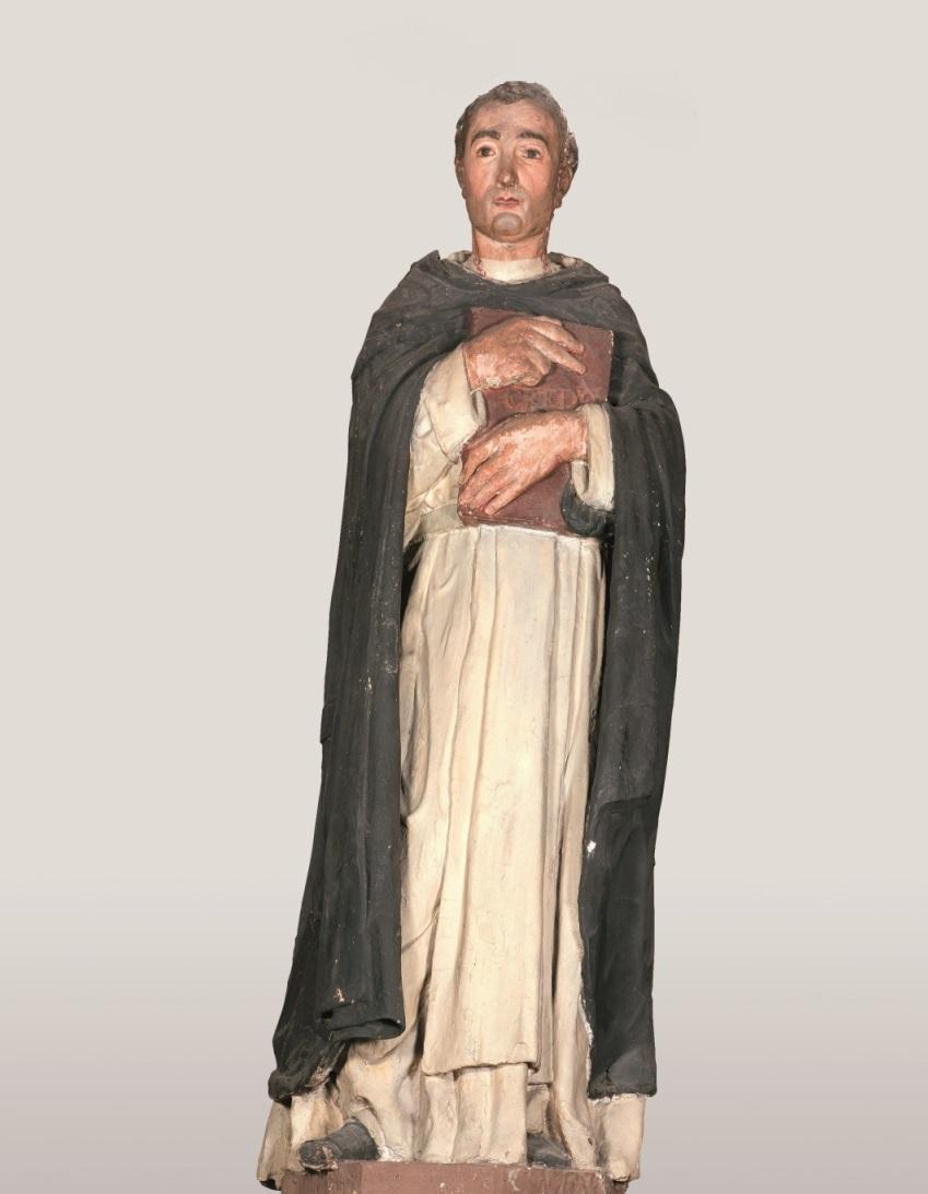 La statua di San Pietro Martire recentemente attribuita a Donatello, custodita nella Chiesa di S. Lucia di Fabriano