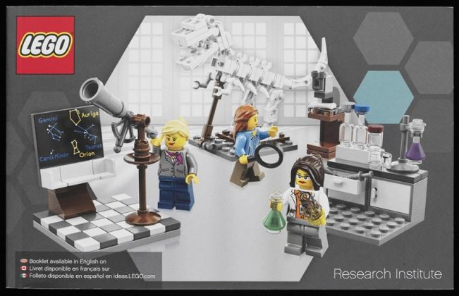 Lego Research Institute, Submitted to Lego Ideas by Ellen Kooijman, designed and manufactured by Lego, 2014. Photo © Victoria and Albert Museum, London