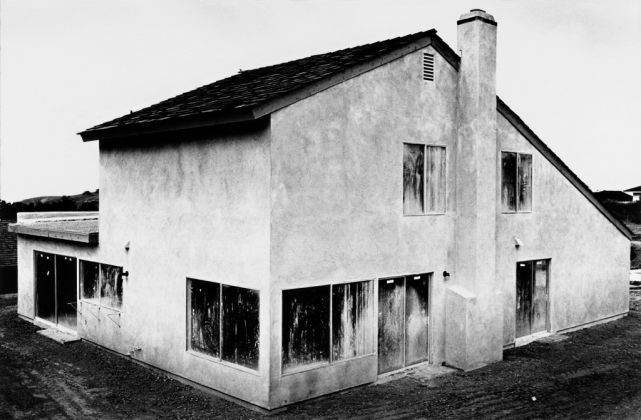 Lewis Baltz, Tract House no. 4, from The Tract Houses, 1971. Private collection, Parigi. © The Lewis Baltz Trust