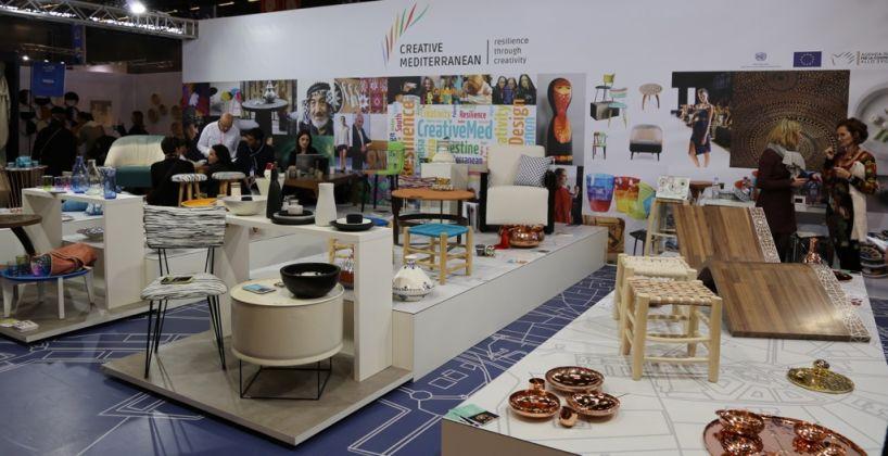 Lo stand di Creative Mediterranean a Maison&Objet