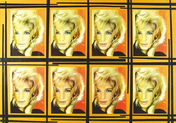 Luciano Ori, Monica Vitti, 1963. Collezione Palli