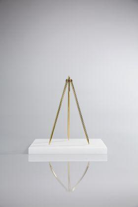 Ludovico Bomben, Studio per compasso a tre gambe 1, 2012