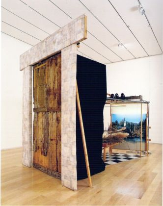 Marcel Duchamp, Étant donnés, 1969. Philadelphia Museum of Art