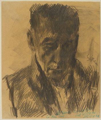Mario Sironi, Autoritratto, 1949. Mart, Collezione Allaria