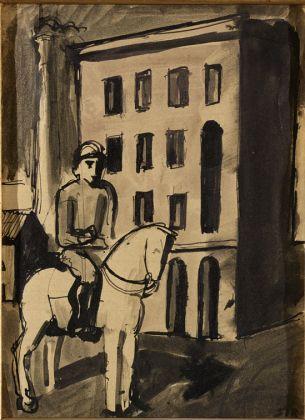 Mario Sironi, Cavaliere, 1920. Mart, Collezione Allaria