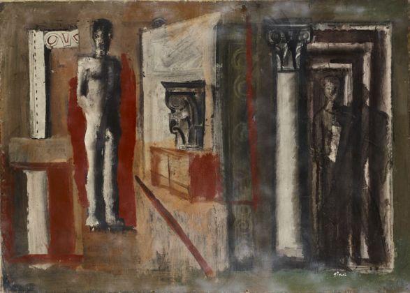 Mario Sironi, Composizione murale, 1934. Mart, Collezione Allaria