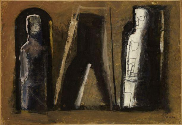 Mario Sironi, Figure arcaiche, 1949. Mart, Collezione Allaria