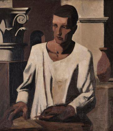Mario Sironi, L'architetto, 1922-23. Collezione privata. © Mario Sironi, VEGAP, Madrid, 2017