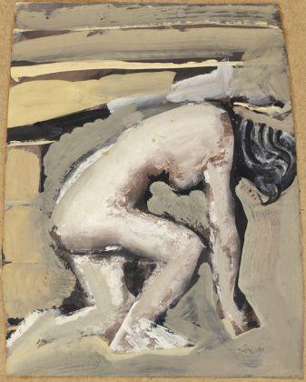Mario Sironi, Nudo bianco, 1946-1947. Mart, Collezione Allaria