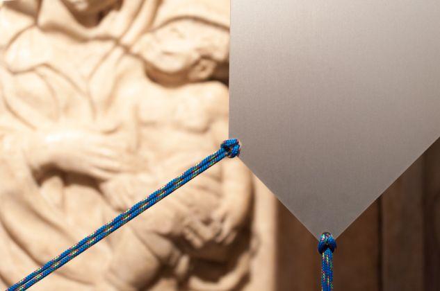 Martino Genchi. Raccogli la cosa nell'occhio. Installation view at Museo Civico Medievale, Bologna 2017. Photo Irene Fanizza