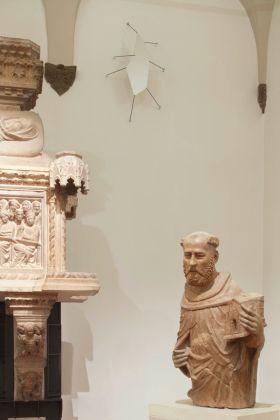 Martino Genchi. Raccogli la cosa nell'occhio. Installation view at Museo Civico Medievale, Bologna 2017. Photo Matteo Monti. Courtesy Istituzione Bologna Musei