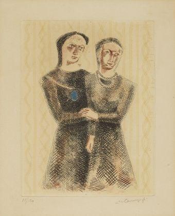 Massimo Campigli, Le due sorelle, 1931. Mart, Collezione Allaria