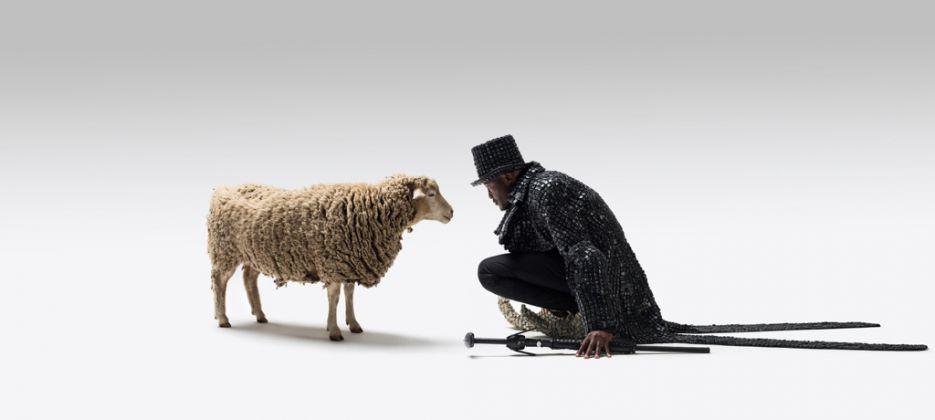 Maurice Mbikayi, Modern Shepherd (Mulami Mushidimuka), 2016