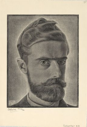 Maurits Cornelis Escher, Selfportrait