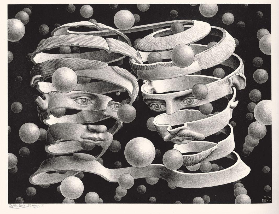 Maurits Cornelis Escher, Vincolo d'unione