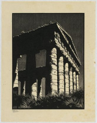 Maurits Cornelis Escher, Temple of Segesta