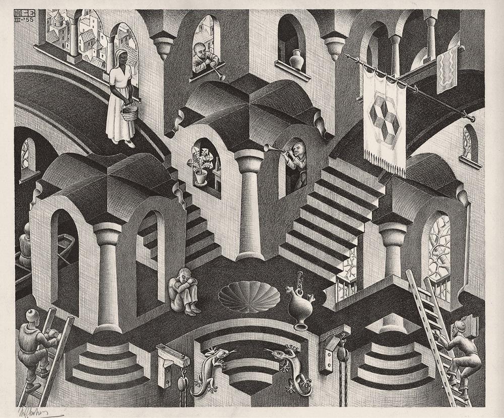 Maurits Cornelis Escher, Concavo-Convesso