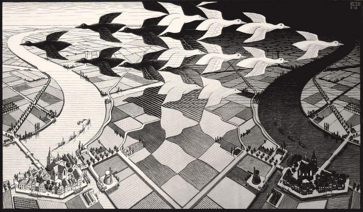 Maurits Cornelis Escher, Giorno Notte