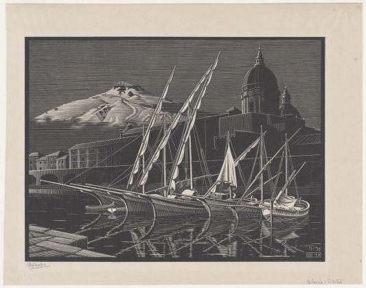 Maurits Cornelis Escher, Catania