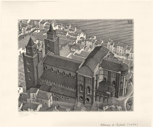 Maurits Cornelis Escher, Cathedral of Cefalú