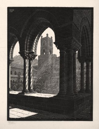 Maurits Cornelis Escher, Cloister of Monreale