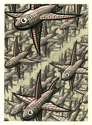 Maurits Cornelis Escher, Profondità II. Depth