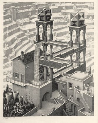 Maurits Cornelis Escher, Cascata